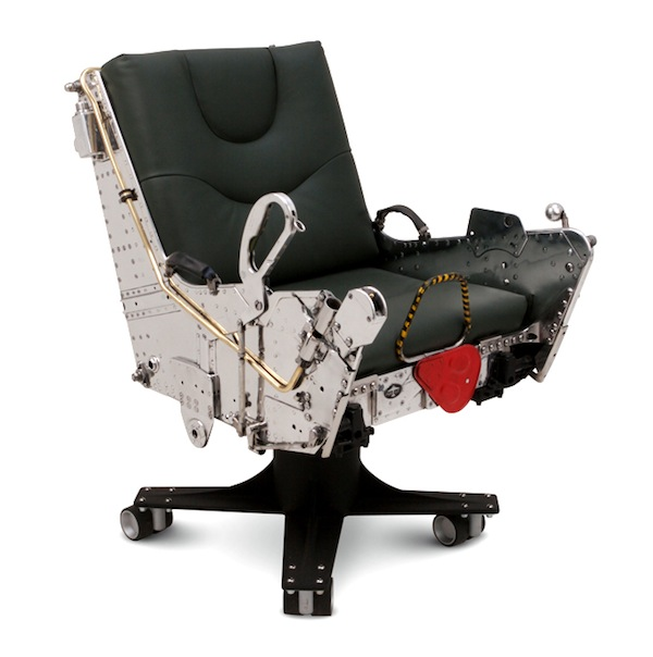 Comfy Looking Chairs Made Of Old Airplane Parts