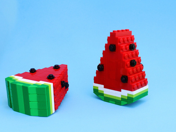 Lego Toy Food : Mouthwatering food items constructed with lego