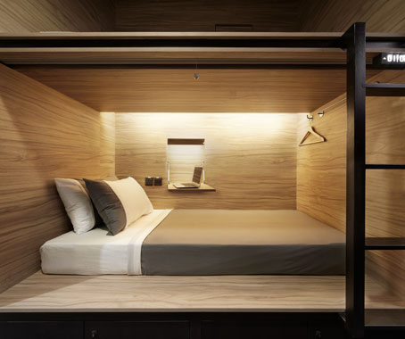 A stylish modern capsule hotel that goes beyond the basics - Beautiful snooze bedroom suites packing comfort in style ...