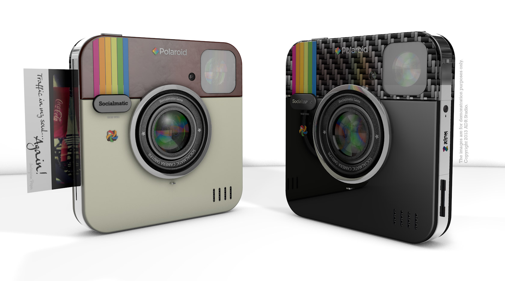 camera has announced that the camera has been picked up by polaroid