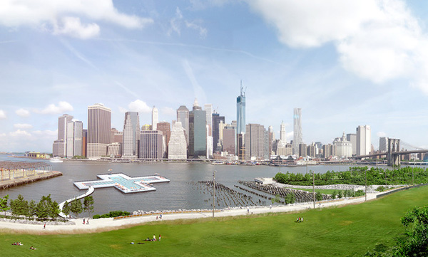 A Project To Build A Swimming Pool In New York City S East