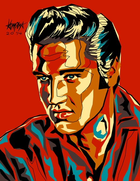 Colorful Illustrations Of Famous Personalities Inspired By