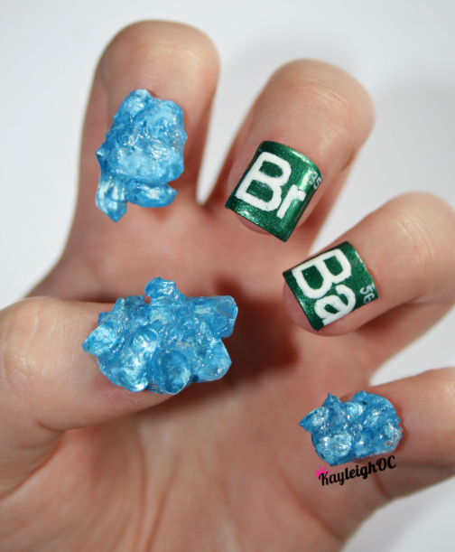 Astoundingly Elaborate Nail Art Inspired By Movies, TV