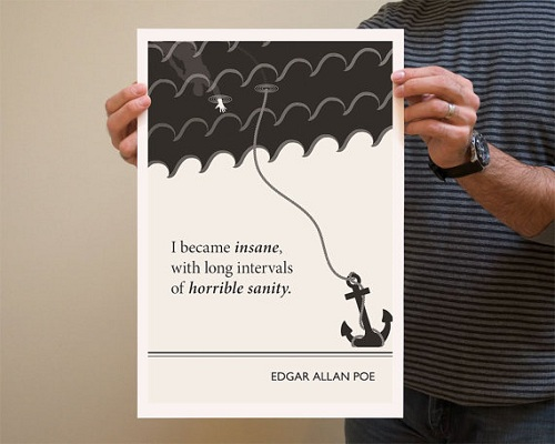 Famous Book Quotes: Illustrator Creates Posters Of Literature Quotes Made By