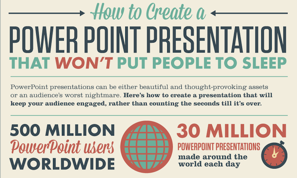 Infographic: How To Create An Engaging PowerPoint Presentation ...