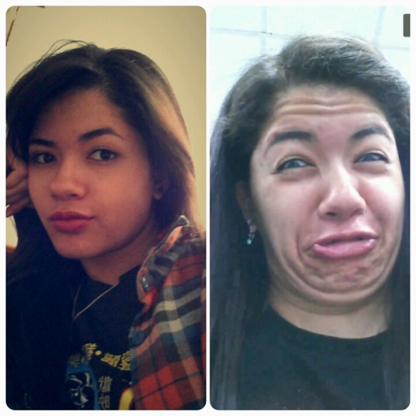 Humorous Photographs Of Pretty Girls Making Ugly Faces ...