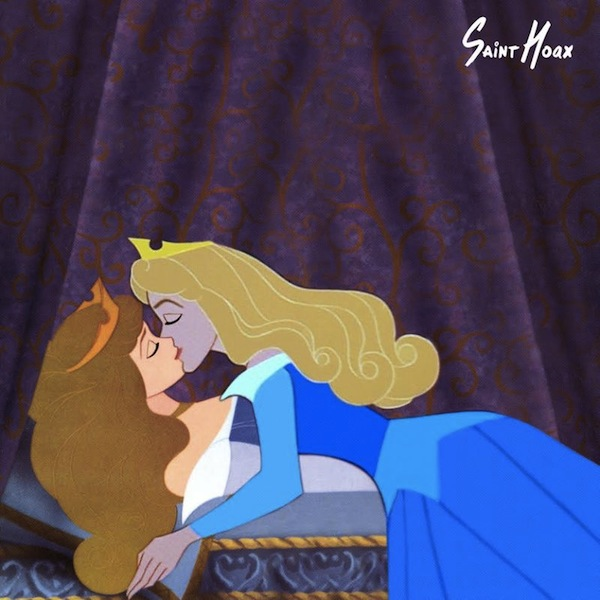Images Of Disney Princesses Kissing Themselves Send Strong ...