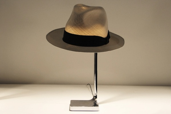 Philippe starck unveils a lamp that uses a hat as lampshade advertisement mozeypictures Images