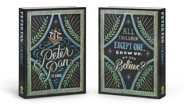 Typographic Book Cover Quotes : Beautiful typographic puffin books covers created by