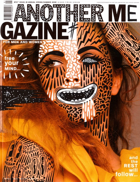 Illustrator Uses Magazine Covers As Canvases Designtaxi Com