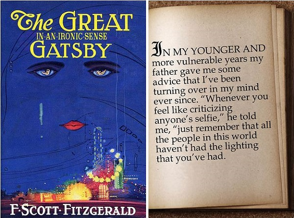 If Famous Novels Were Rewritten For The 21st Century… - DesignTAXI.com