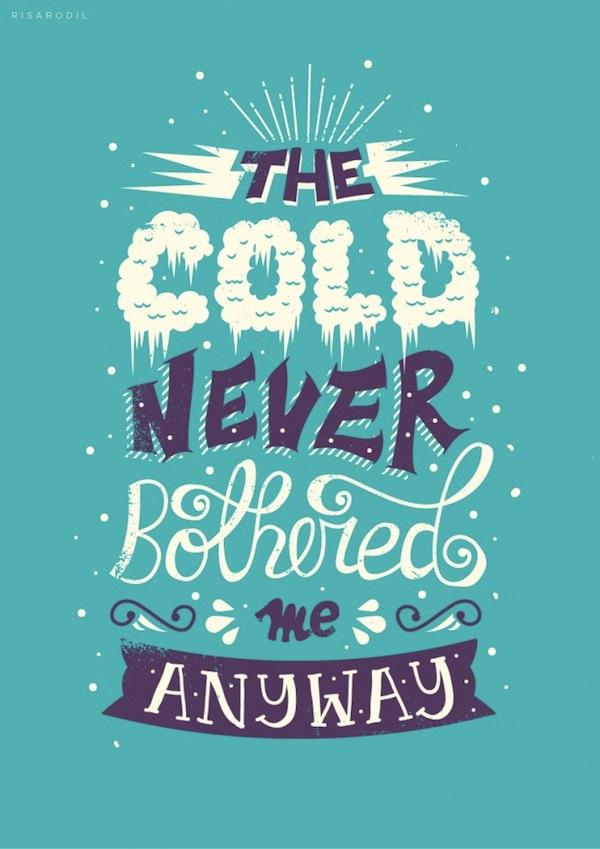 Citaten Love Fashion : Eye catching typographic illustrations of memorable quotes