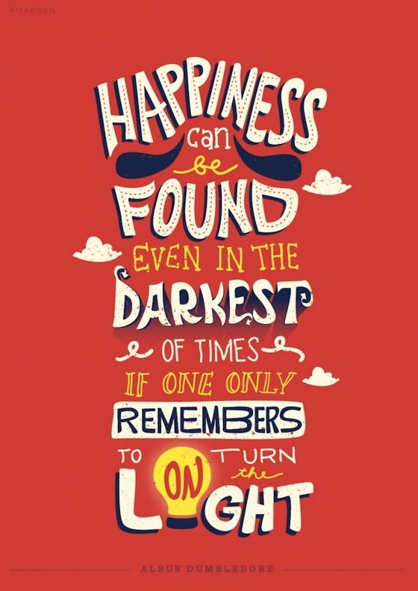 Quotes On Loss: Eye-Catching Typographic Illustrations Of Memorable Quotes