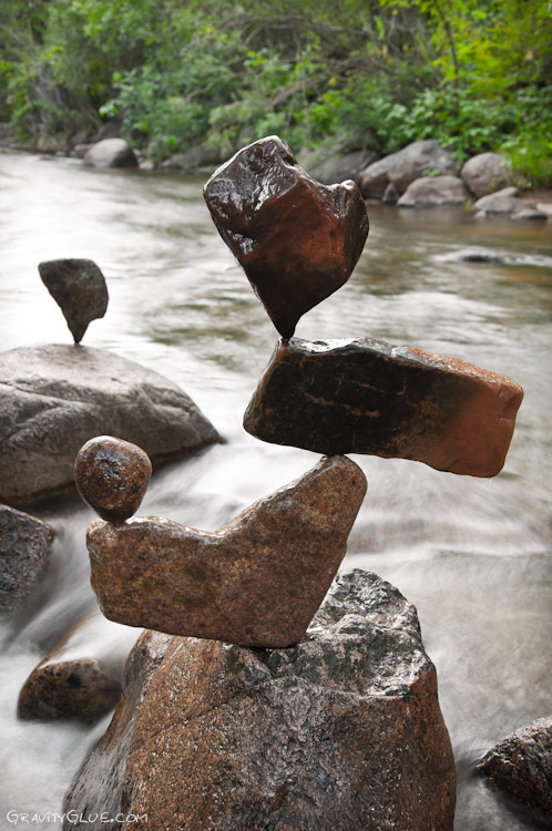 Gravity Defying Rock Sculptures Designtaxi Com