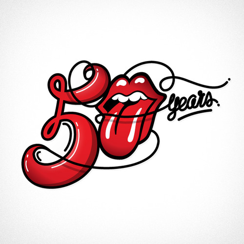 Rock and Roll Design History The Rolling Stones Logo