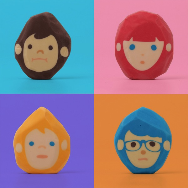'Rubber Barber' Erasers That Allow You To Play Hairdresser