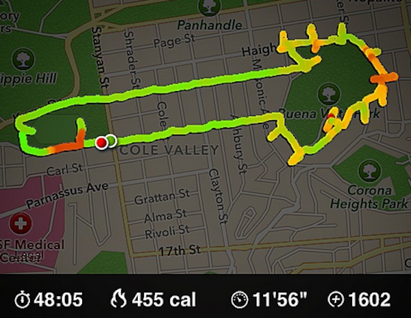 Funny Runner Maps Out Jogging Routes That Form Shapes Of Penises Obscene Sig