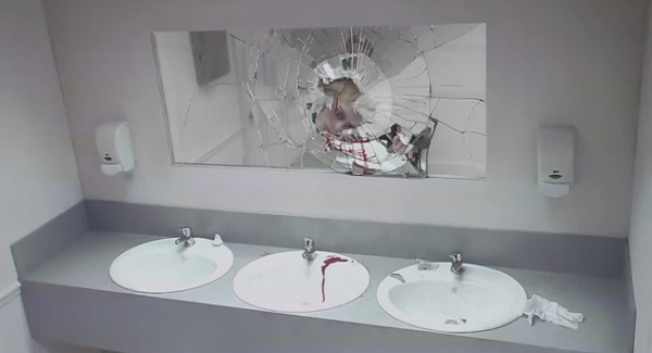 Bathroom Prank Scares Drivers From Drunk Driving