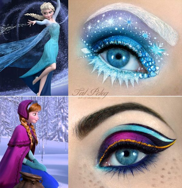 Make-Up Artist Creates Amazing Scenes On Eyelids Inspired By Movies Fairytales