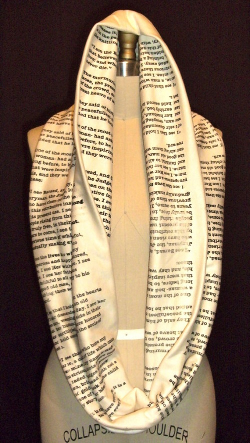 book scarves that literally keep you warm designtaxi