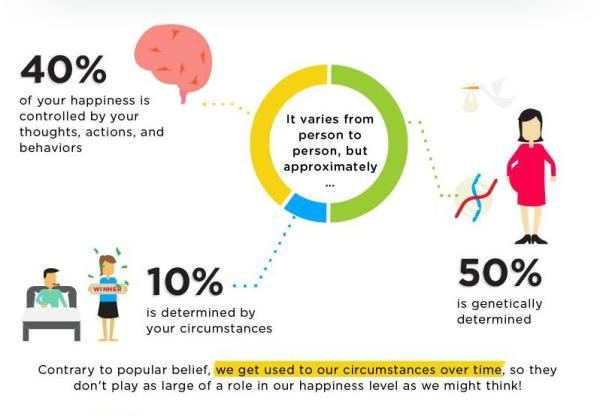 Infographic The Science Of Happiness Designtaxi Com