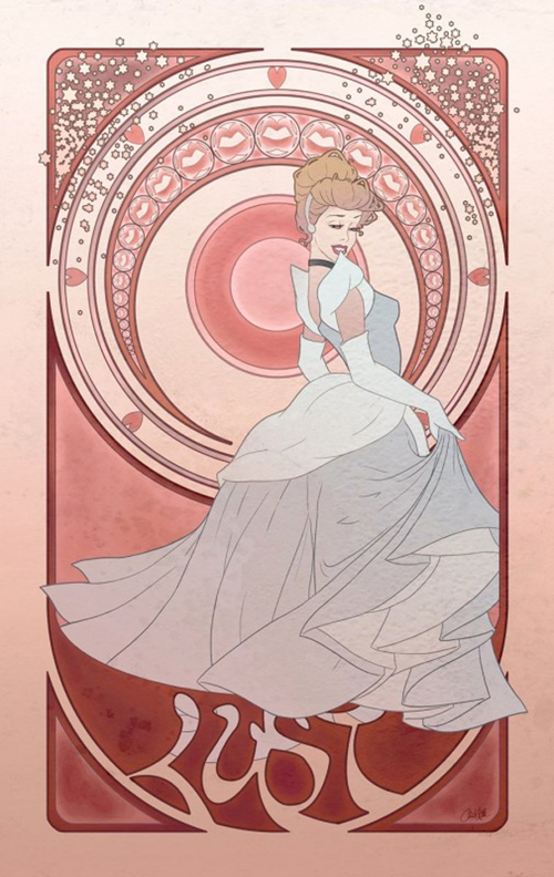 Artist Depicts Disney Princesses as the Seven Deadly Sins ...