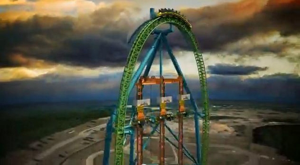 Six Flags Announces Tallest Drop Ride To Launch In 2014