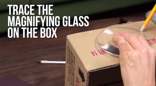Watch Make Your Own Smartphone Projector With Household