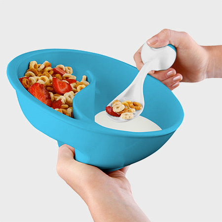 how to eat cereal without a bowl