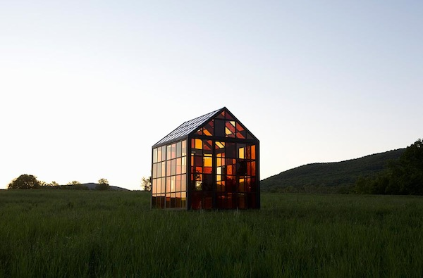 A Beautiful Greenhouse Made With Stain Glass-Like ... - photo#44