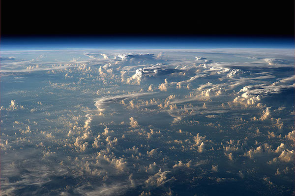 Space-Photography of Clouds