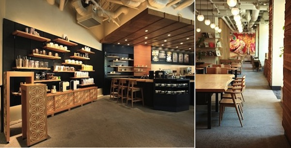 In Japan Starbucks Opens Japanese Craft Inspired Outlet