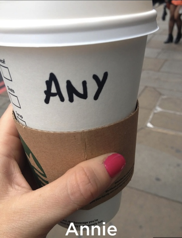 Funny collection of misspelled names written on starbucks cups