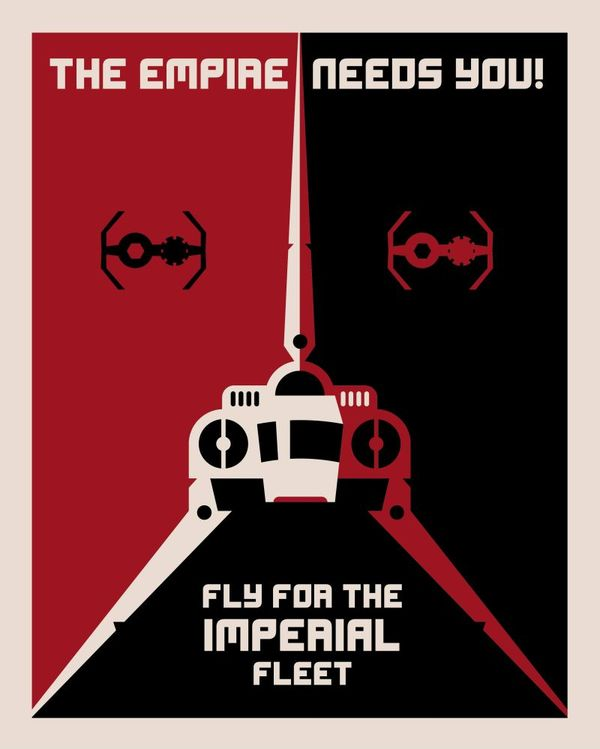 Star Wars Posters Inspired By Soviet Constructivism