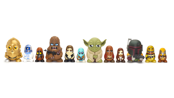 Star Wars Characters Toys : Iconic 'star wars characters reimagined as awesome cute