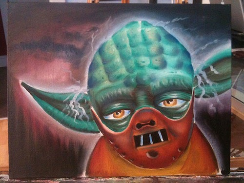 Mash Up Of Star Wars And Scary Movies Dark Side Revealed