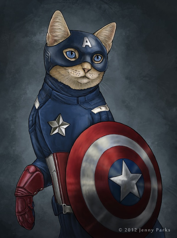 What Superheroes Would Look Like If They Were Cats ...