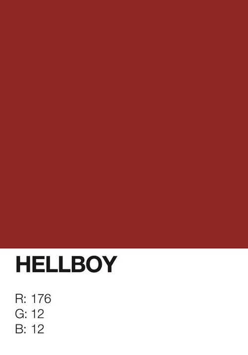 designer identifies the pantone colors of superheroes