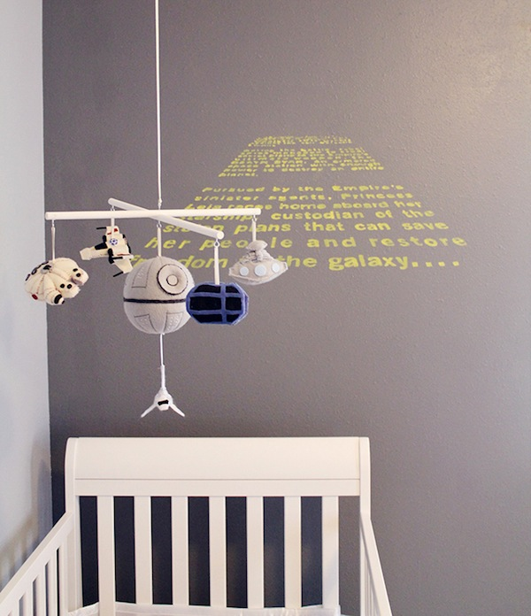 an awesome star wars themed baby nursery. Black Bedroom Furniture Sets. Home Design Ideas