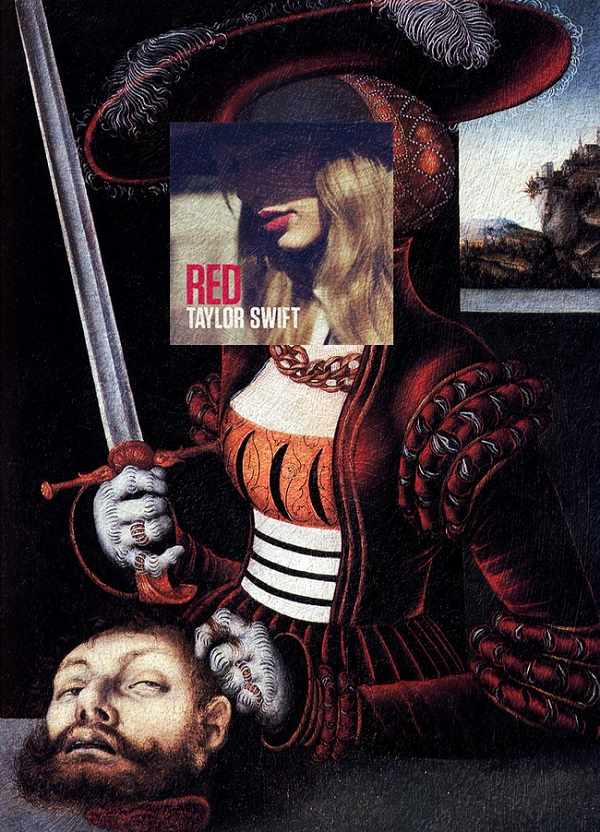 Artist Humorously Inserts Taylor Swift Albums Into Classical Artworks