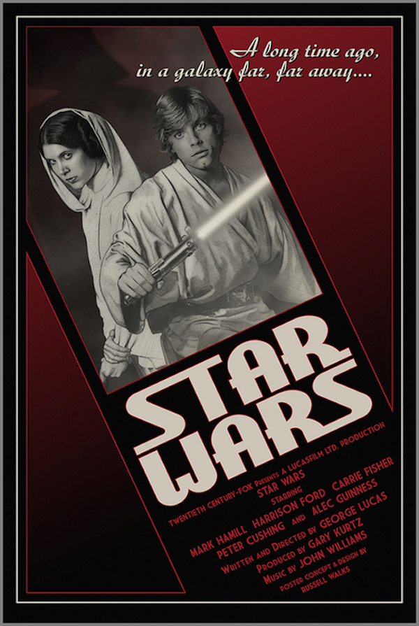 Amusing Posters That Reimagine Star Wars As Cheesy