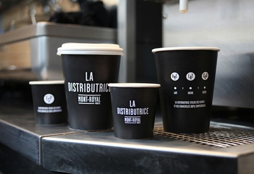 Coffee Shop That Reinvents Takeout Coffee Service