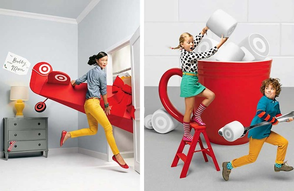 Target's In-House Ad Agency Launches Beautiful New Website - DesignTAXI.com