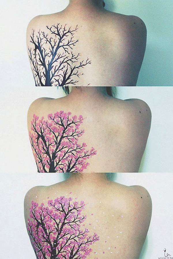 Collection of intensely beautiful tattoo art