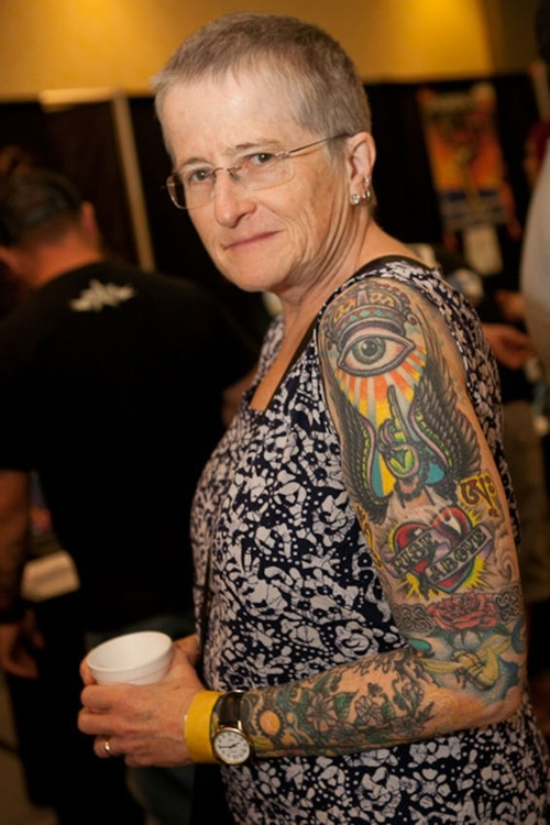 Photos Of Inked Seniors Show What Tattoos Look Like On Aging Skin