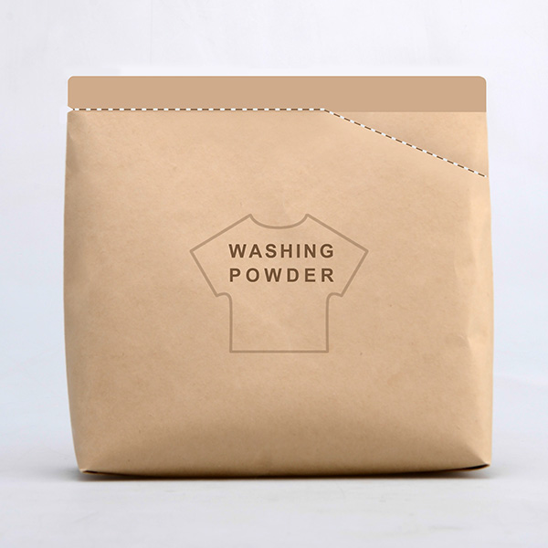 Clever Washing Powder Packaging Lets You Tear Off A Corner