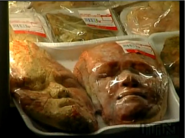 Baker Creates Gruesome Body Parts Out Of Bread