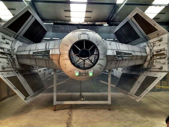 Star Wars Fans Build Tie Fighter That Weighs Over A Ton