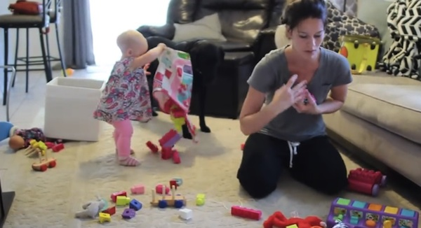 Funny Video Shows Why Mothers With Toddlers Cannot Get Anything Done