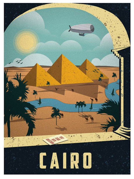 Day-Dream About Your Next Holiday With These Gorgeous Travel Posters